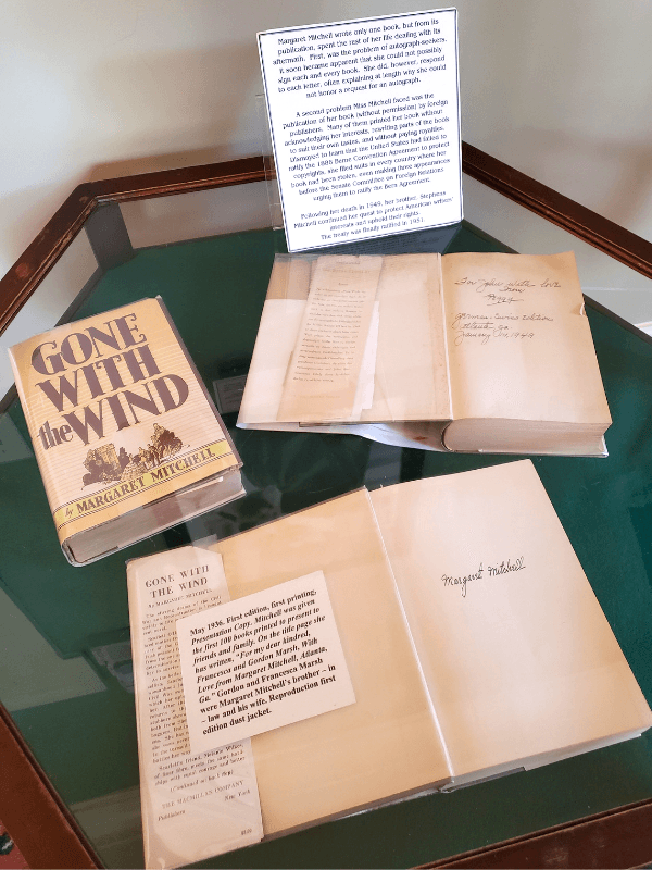 Signed copies of Gone with the Wind