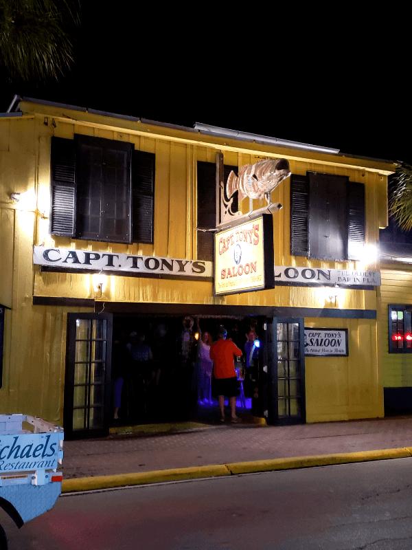 Capt. Tony's Saloon in Key West, Florida