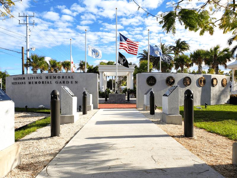 Key West Veterans Memorial Garden