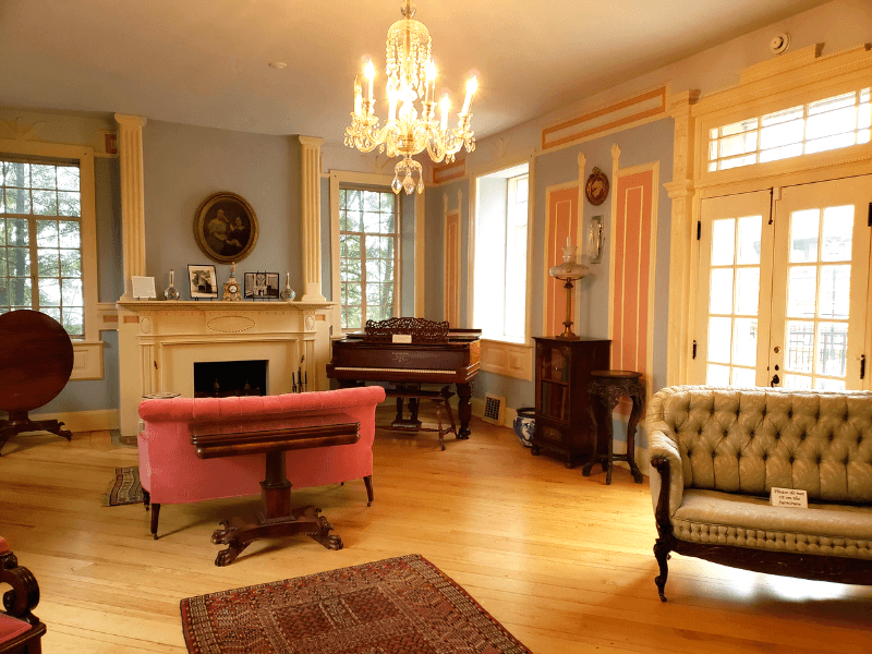 Visiting Dr. Burritt's home is one of the top Huntsville things to do