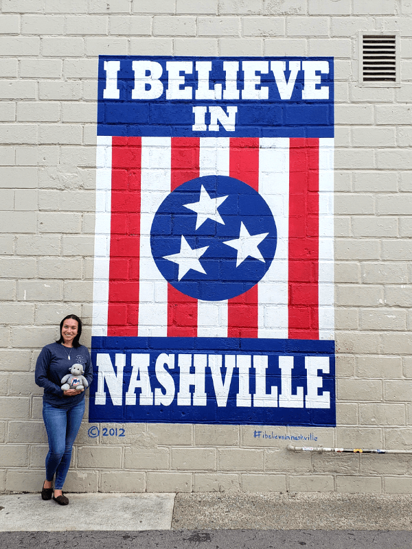 Hunting for Nashville street art should be a part of your weekend in Nashville itinerary