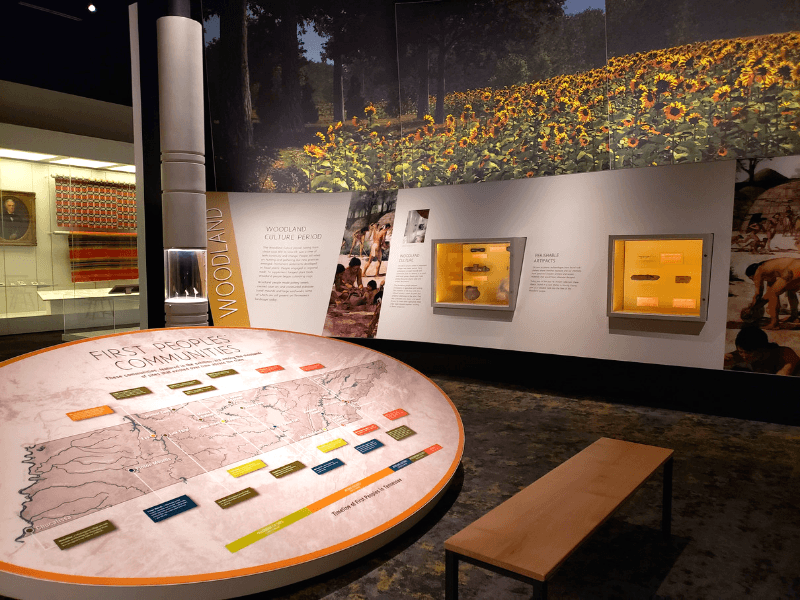 Inside the Tennessee State Museum