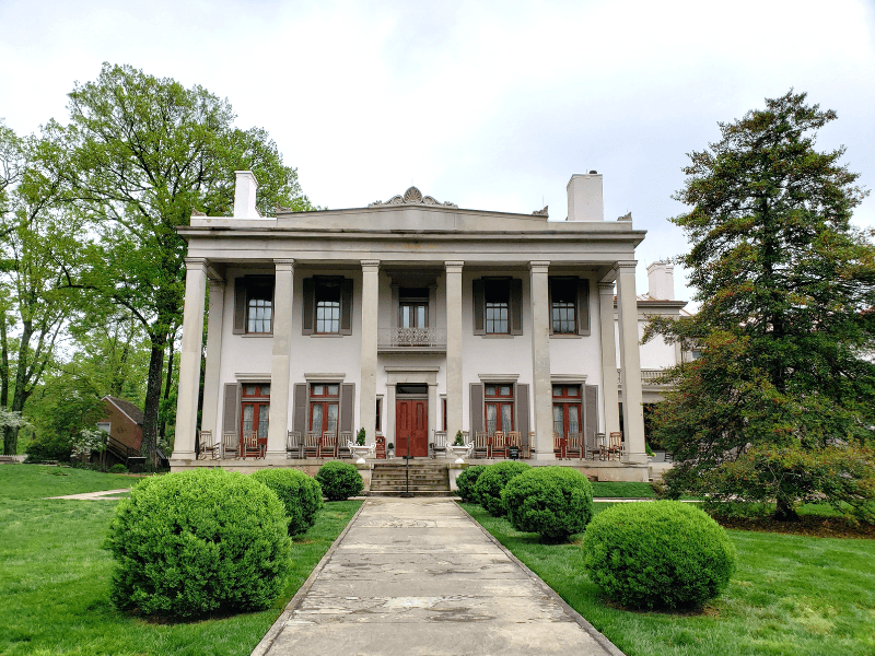 Belle Meade Mansion is a must see during a weekend in Nashville