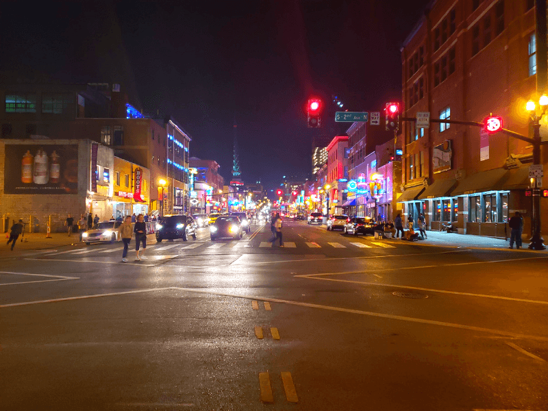 Nashville's iconic Broadway bars are a must see during your weekend in Nashville