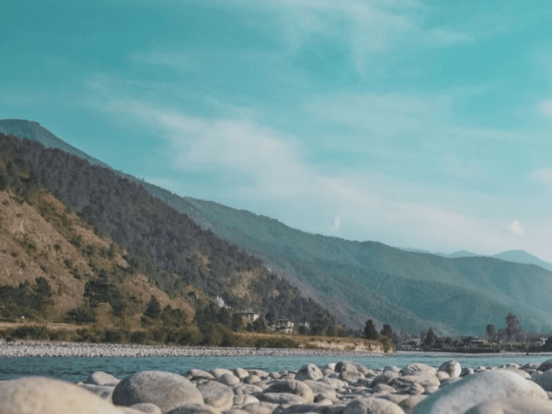 There is a lot of natural beauty in Bhutan