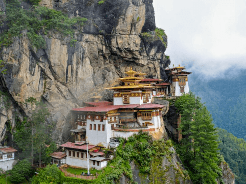 Tiger's Nest is one of the top Bhutan destinations