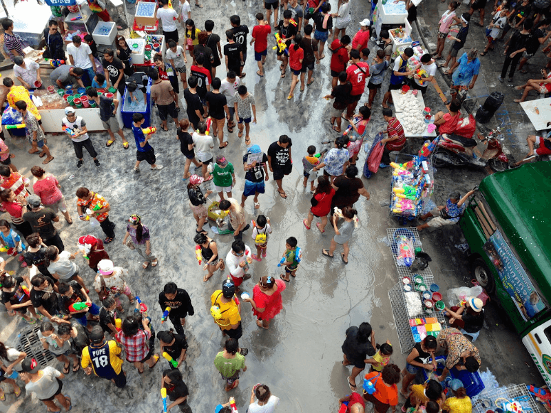 Songkran celebrations are a way to embrace Thai culture