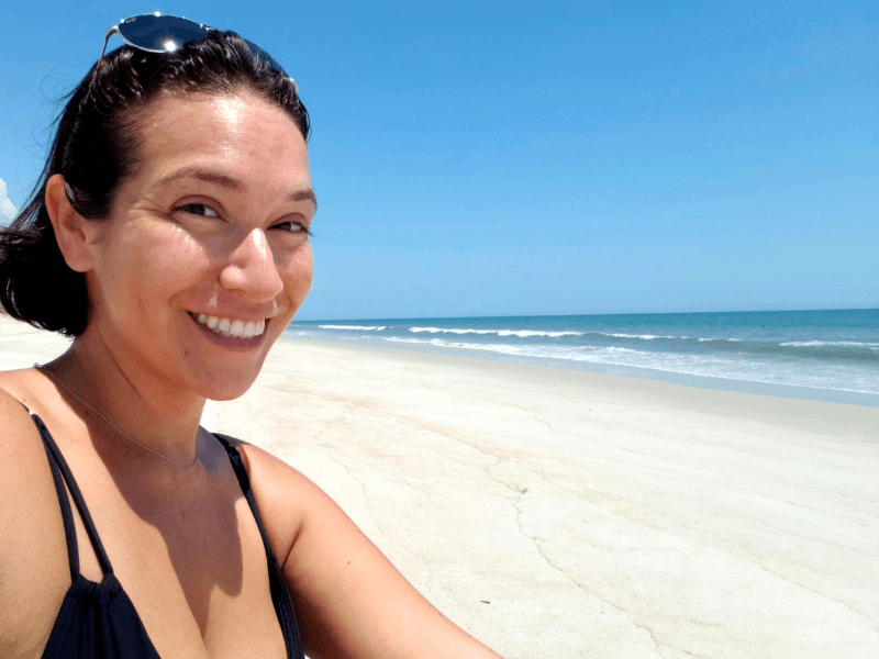 Apollo Beach on Canaveral National Seashore