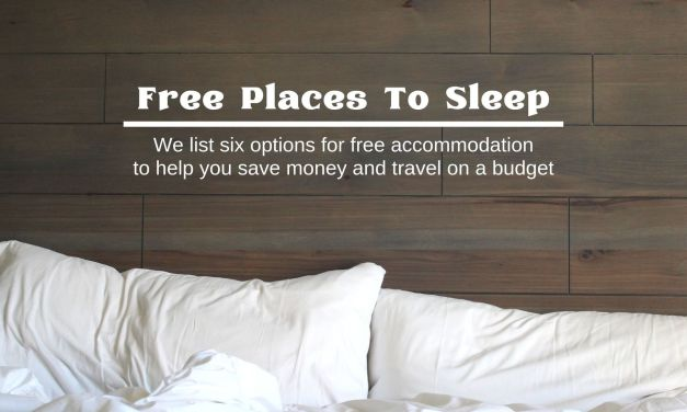 Free Places To Sleep: Travel With Free Accommodation