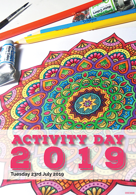 Activity Day 2019 booklet cover
