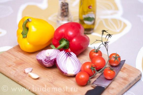 Ингредиенты для приготовления Пеперонаты