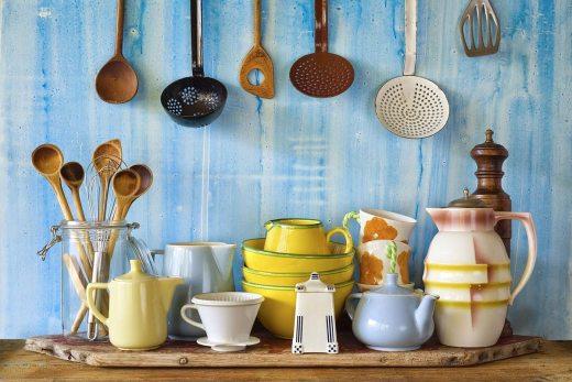 Кухонная утварь в средиземноморском стиле