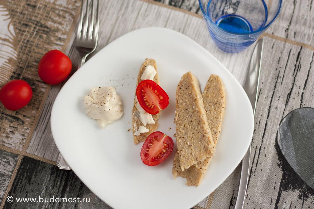 Полента Таранья с сыром и томатами