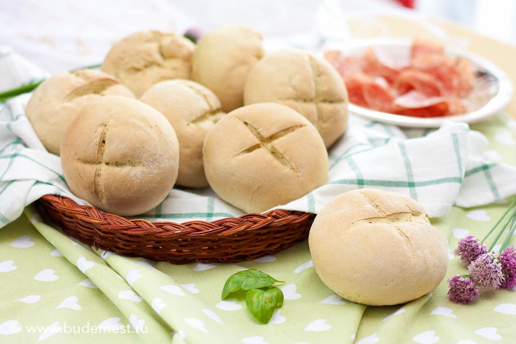 Базиликовые хлебцы