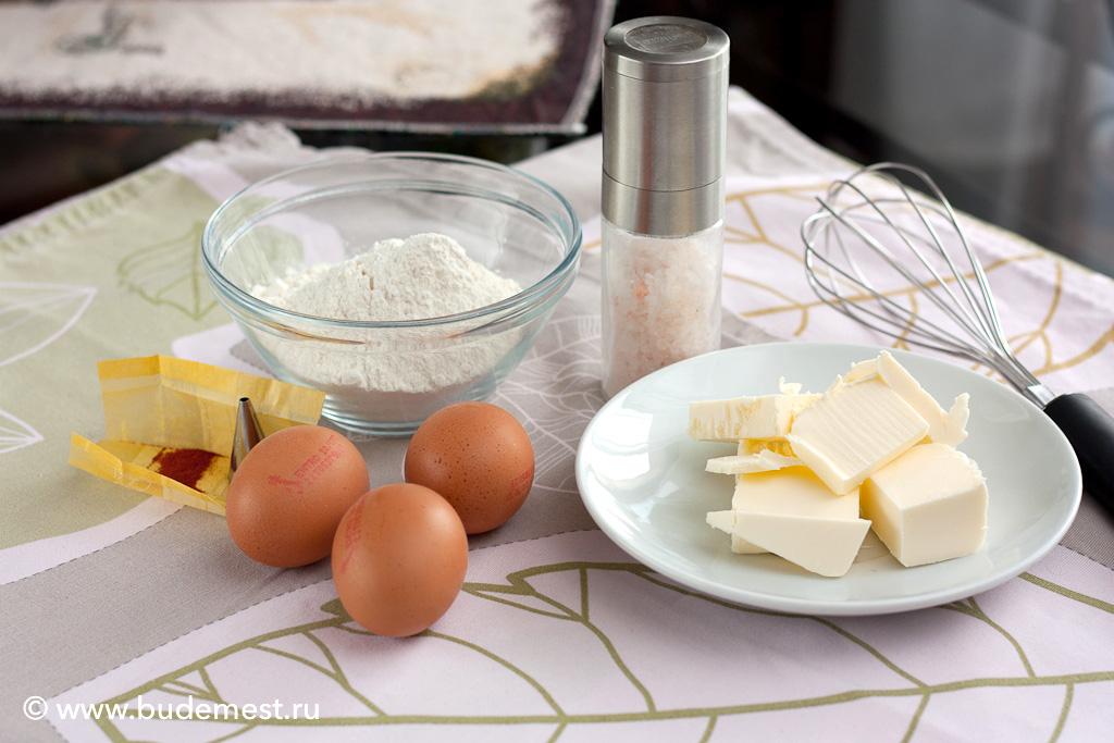 Ингредиенты для приготовления королевской пасты