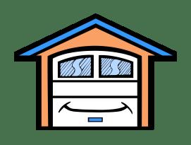Budget Garage Doors & Services Logo