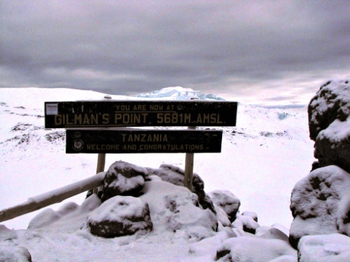 Marangu Route Climb Destination