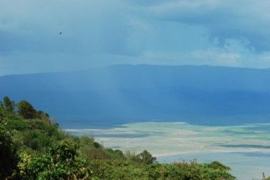 Ngorongoro Crater from Viewing Point Above