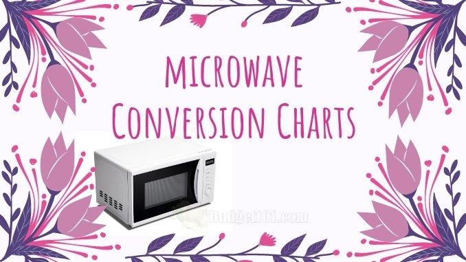 700 watt microwave timing conversion