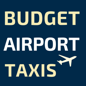 low cost budget glasgow airport taxi logo