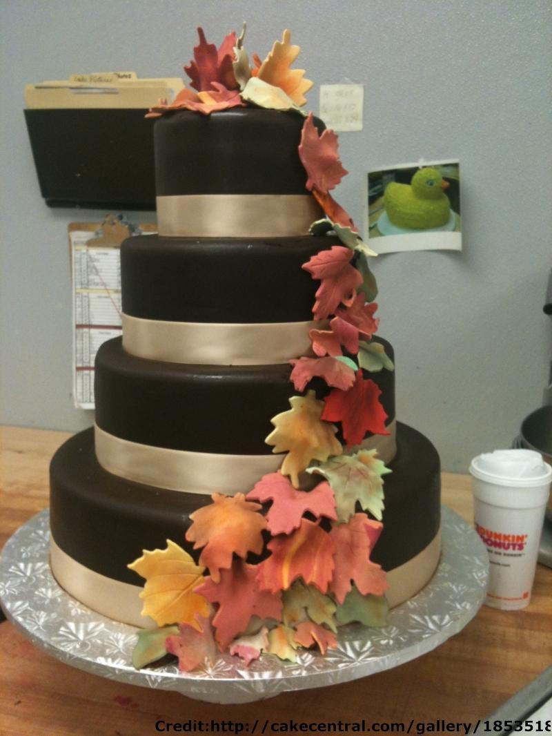 Autumn Wedding Cake Ideas Budget Brides Guide A