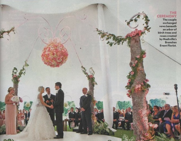 Carrie Underwood Wedding Inspirations And Decoration Ideas