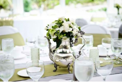 Teapot Wedding Centerpieces Budget Brides Guide A Wedding Blog