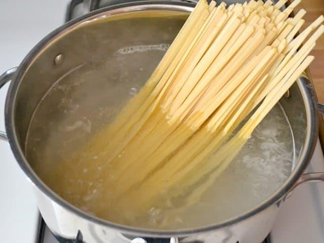 Hervir la pasta