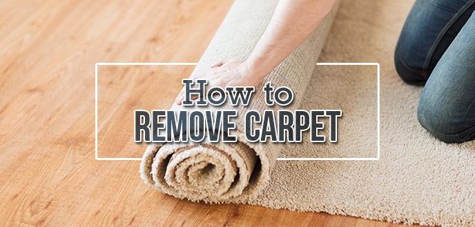how to remove carpet in 5 simple steps