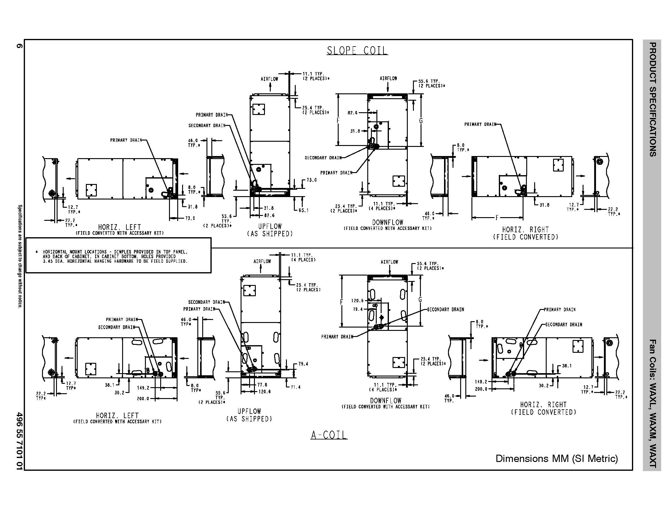 Lennox Furnace Specifications