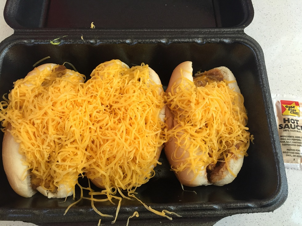 Goldstar chili dogs.