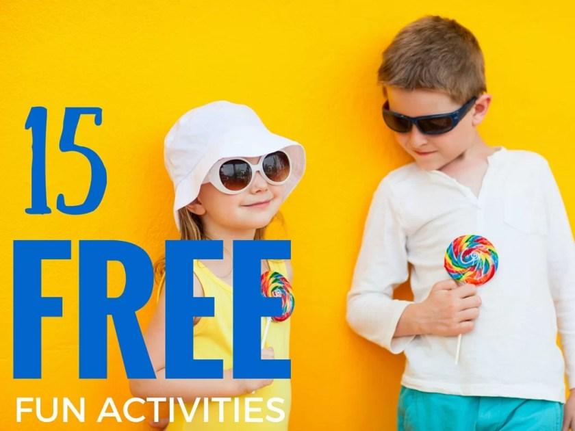 15 fun & free school holiday activities