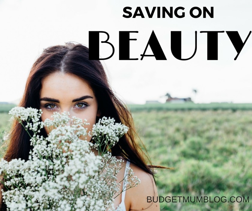 easy changes to save on hair and beauty