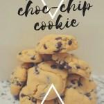 Choc chip cookies recipe