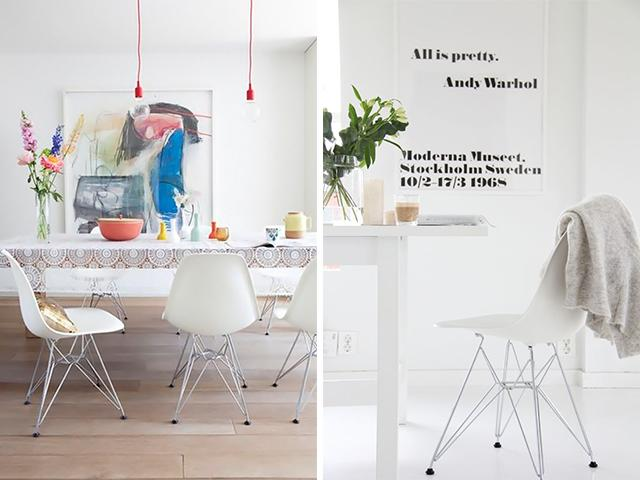 Inspiratie: eames stoel: look a likes