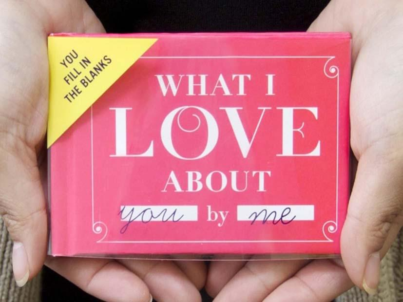 Cadeautip moederdag: what I love about you