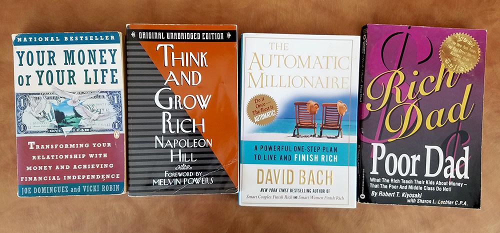 classic money books covers