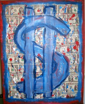 Image result for money painting
