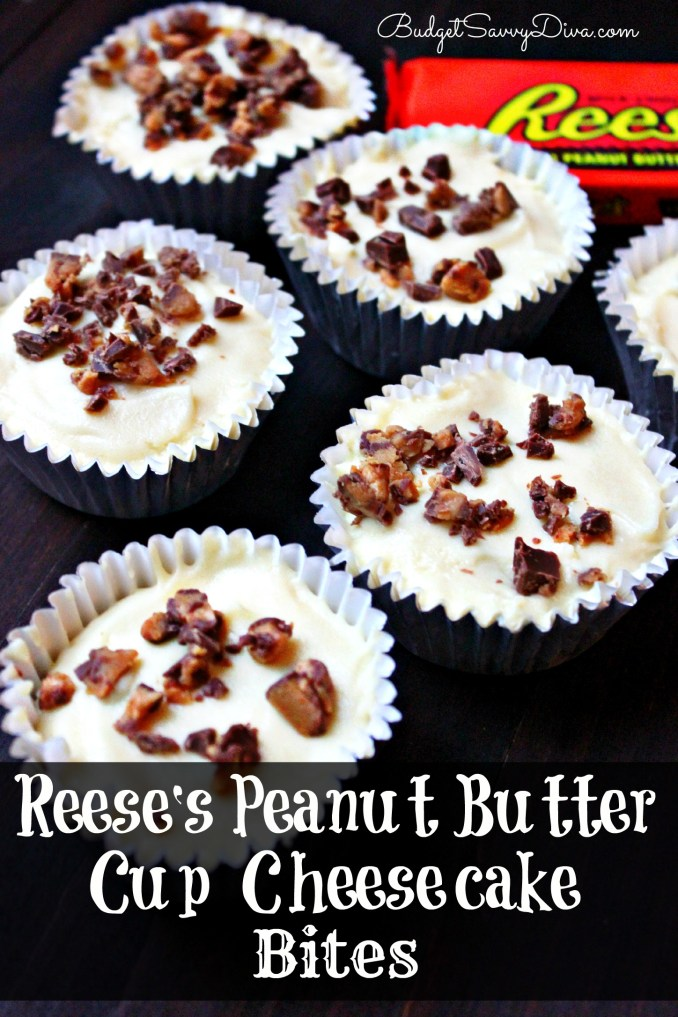 Reese's Peanut Butter Cup Cheesecake Bites Recipe - Budget