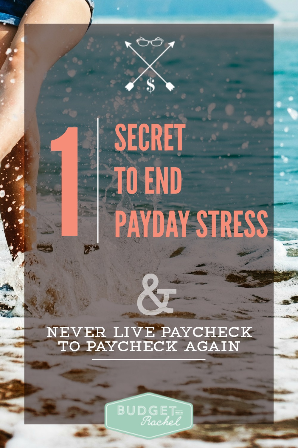 The Secret to Eliminate the Stress of Living Paycheck to Paycheck. Wow! This is such a smart idea! I think everyone should live like this because it works! Since I learned this secret, I have had no worries about how much money we have left at the end of the month. I don't even know when our paydays are now because it doesn't matter!