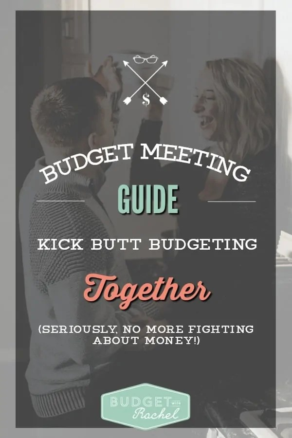 Family Budget Meeting Simple Steps to Follow for a Productive Meeting. I love all of these tips! Since starting to budget we were missing being on the same page and these meetings help us do that. We never fight about money now! It's amazing! I am a big fan of step #3 and step #4. Thanks to this guide, we are organized and I actually look forward to meetings.