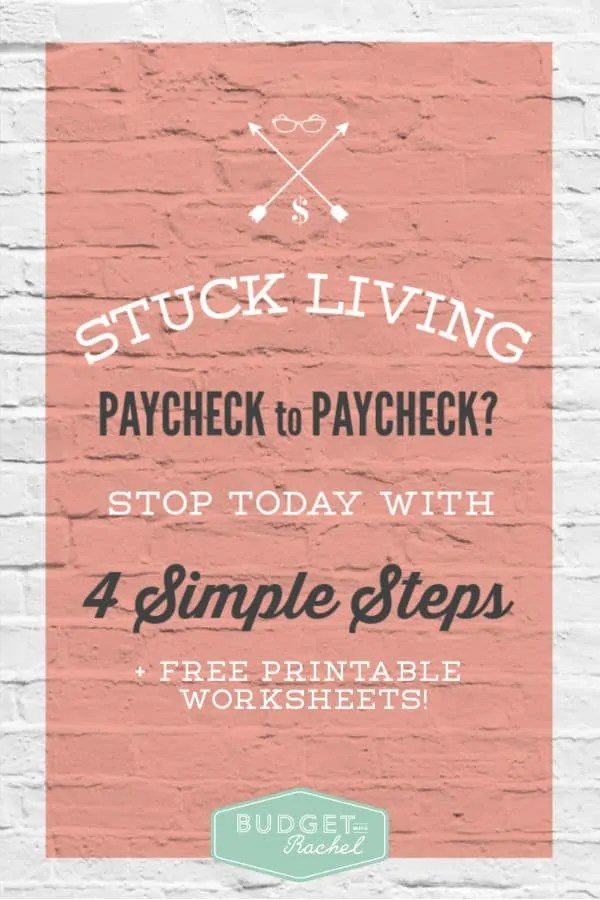 Living paycheck to paycheck | how to get ahead when you have a small income | stop the paycheck to paycheck cycle | budget hacks #budgeting #moneysavingtips #budget #personalfinance #debt