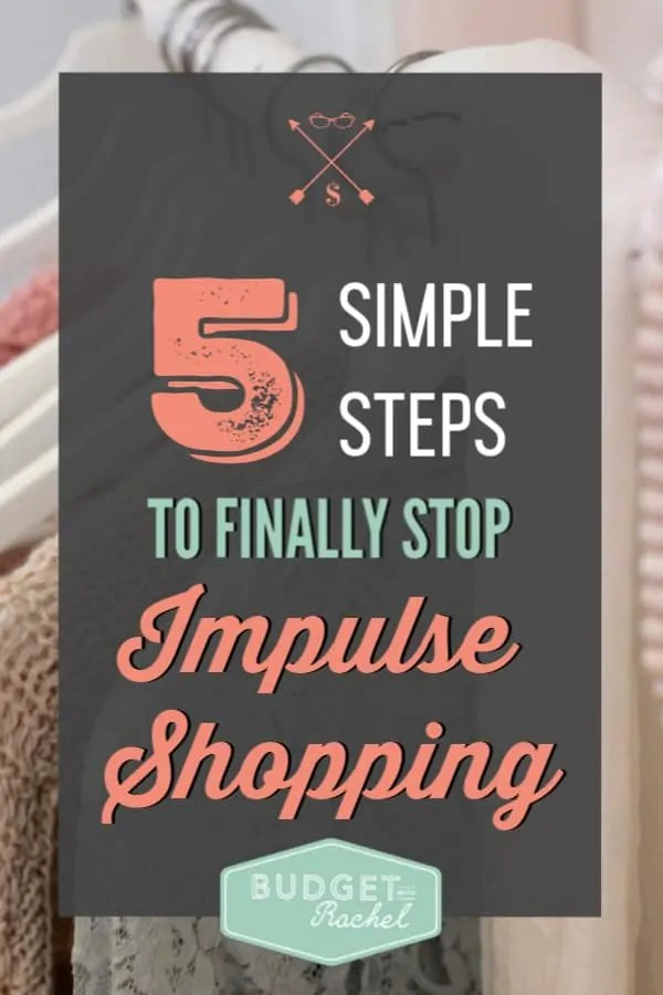 If you struggle with impulse shopping this is how you stop | 5 questions to finally stop impulse shopping | stop overspending with these shopping tips | stop blowing your budget using these shopping hacks | use these methods if you are new to budgeting | stay out of debt when you have self-control | impulse shopping | self-control | budgeting tips | money management tips | personal finance | finance tips #impulse control #shoppingtips #moneymanagement #savingmoney