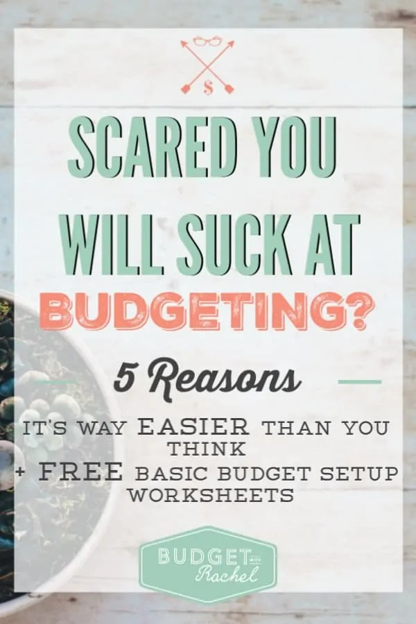 Budgeting for beginners | budgeting isn't as hard as you think it is | budgeting is easier than you think | budgeting myths and challenges | budgeting tips | money management tips | 5 reasons you should start budgeting today | free printables #budget #budgettips #freeprintables #moneytips