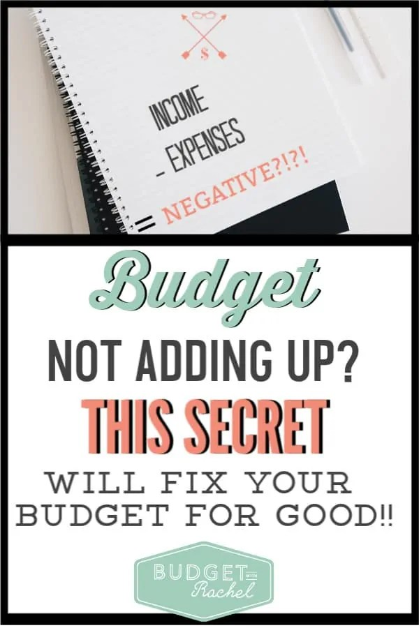 If you are struggling with your budget, coming up short every month and blowing your budget, you need to make this one change with your budget. Once I implemented this one money tip, it changed everything for the better! I no longer worry about payday, there are no surprise expenses and I stay on budget every month. You have to try this! #budget #financetips #moneymanagementtips #freeprintables