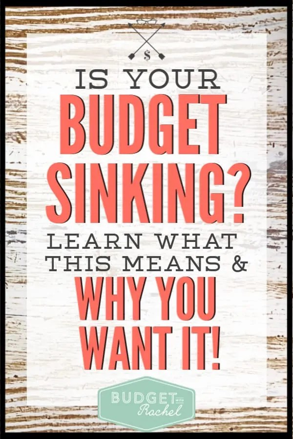 Are you struggling to stick to your budget and not go over with unexpected expenses? Sinking funds may just be the answer you have been looking for! Learn what these are and why you need them to stick to your budget! This is the best budget tip I have ever gotten! #budget #budgettips #sinkingfunds