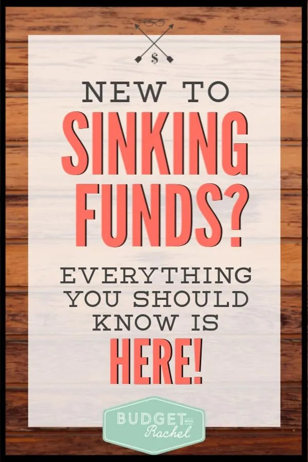 If you have a budget and don't have sinking funds, you are setting yourself up for more headaches than you need. Sinking funds will be a budget game changer! Use this budget tip to propel your budgeting to the next level. #budget #sinkingfunds #budgettips