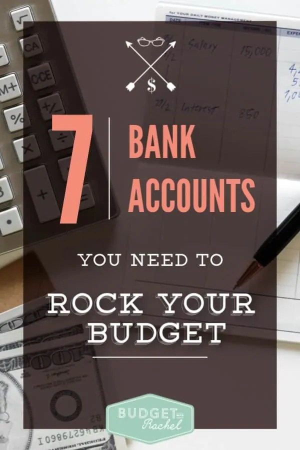 Simplify your budget with multiple bank accounts | multiple bank accounts | budgeting for beginners | budgeting simplified #budgeting #budget #frugalliving