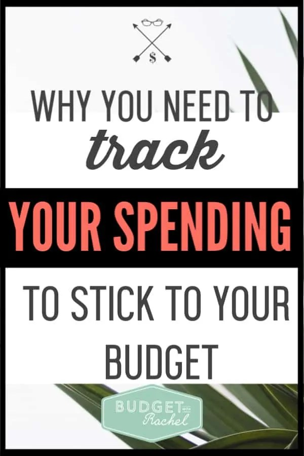 Tracking your spending is the number one way to stick to your budget. Not convinced? These are the top 8 reasons why you need to track your spending. #budget #budgettips #financetips #freeprintables