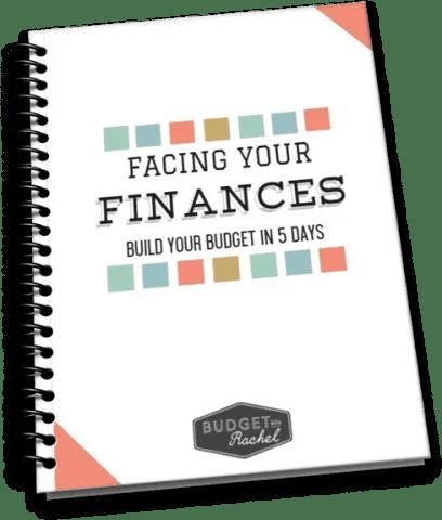 FACING YOUR FINANCES BUILD YOUR BUDGET WORKBOOK